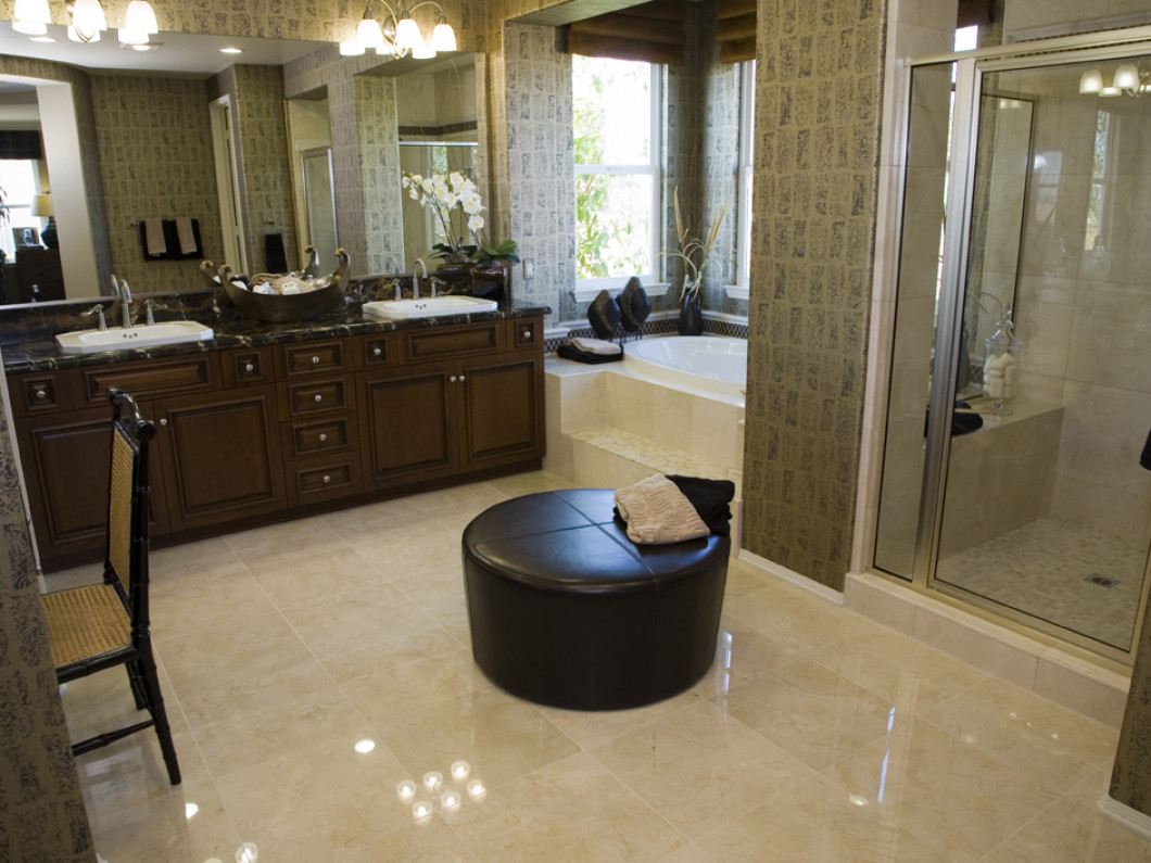 Update your bathroom from floor to ceiling